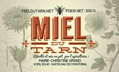 etiquette-miel-du-tarn